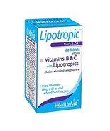Health Aid Trio Lipotropics with B & C 60 Tablets - $29.40
