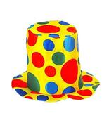 PANDA SUPERSTORE Clown Top Hat Party Costume Carnival Cap Halloween Hat Clown Ha - $11.17