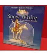 Education Gift Snow White Seven Dwarfs Hardcover Book Sleepy Time Storie... - $5.69