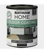 Rust-Oleum Home FLOOR COATING 1 qt. Tile Vinyl Wood DARK TINT BASE 35887... - $26.99