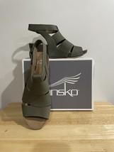 Dansko Sera Milled Nubuck Sage Size 38EU 7.5-8US Women's - $30.00