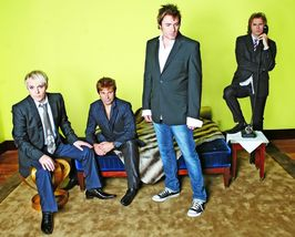 Duran Duran Simon Le Bon 61 Vintage 11X14 Color Music Memorabilia Photo - $13.95