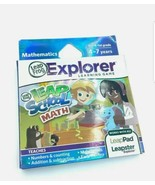 Leap Frog Mathematics Leap School Math Explorer Learning Game Leapster NEW - $13.98