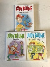 Judy Blume's Fudge collection: Fudge a Mania, Superfudge,Double Fudge 3 ... - $9.00
