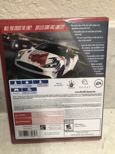 Need for Speed: Rivals (PlayStation 4)  New Factory Y-Fold Sealed PS4 PS Hits A8