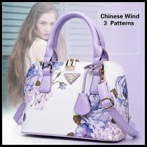 New Arrive Chinese Wind Women Fashion Handbag Lady Chic Shell Bag Beautiful Blue