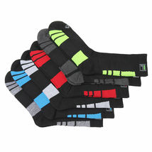 FILA Men's 6 Pack Classic Sport Athletic Gym Moisture Control Absorb Dry Socks image 12