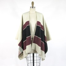 XS / S - SANCTUARY Anthropologie Striped Blanket Sweater Poncho Jacket 0... - $45.00
