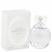 Perfume Sheer Beauty Essence by Calvin Klein  1 oz  Eau De Toilette Spra... - $18.19