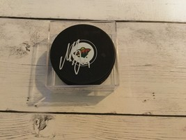 Mikael Granlund Signed Minnesota Wild Hockey Puck Autographed NHL c - $34.64