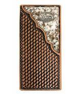 Western Men's Basketweave Genuine Leather Praying Cowboy Long Cowhide St... - $27.71