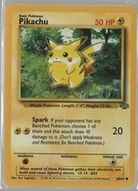 Pikachu - Pokemon Collectible Card Game - 1999 Wizards - Ken Sugimori. - $1.08