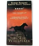 The Horse Whisperer VHS BRAND NEW FACTORY SEALED Robert Redford PG-13 Dolby - $9.74