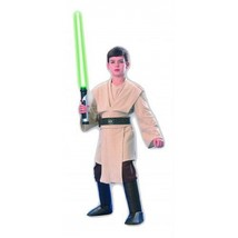 Costume Child Deluxe Jedi Knight STAR WARS S size - $180.00