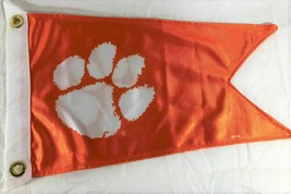 "Clemson Burgee Boat Flag 12X18"" NEW Collegiate  golf cart - $20.79"