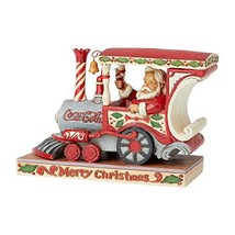Enesco Coca-Cola by Jim Shore Santa in Coca-Cola Engine - $74.20
