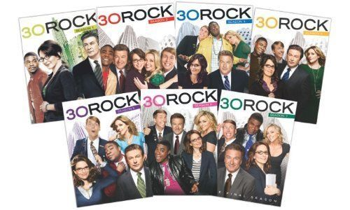 30 Rock: The Complete Series Seasons 1-7 [DVD Sets New]