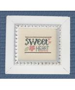 Sweetheart cross stitch chart Cherry Hill Stitchery - $5.40
