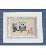 Sweetheart Owls cross stitch chart Cherry Hill Stitchery - $5.40