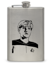 """Next Generation"" 8 oz Flask- Free Personalization - $21.44"