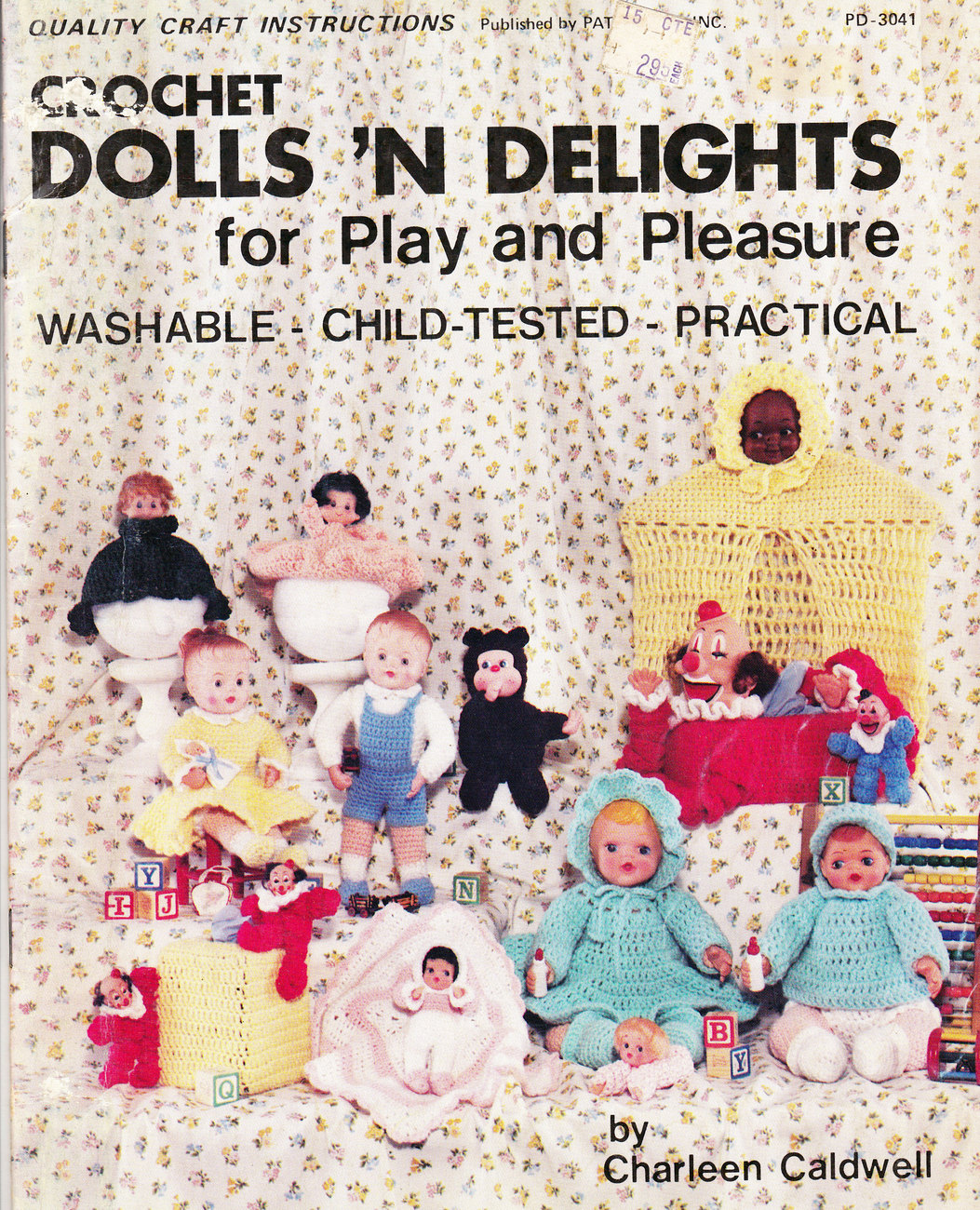 Primary image for CROCHET DOLLS 'N DELIGHTS DOLLS CLOTHING TOYS WASHABLE3