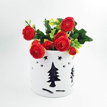 Better-way Orchid Planter Christmas Flower Pot Decorations Round Ceramic... - $16.35 CAD