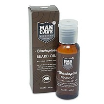 ManCave Black Spice Beard Oil, 1.69 oz
