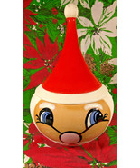 Rare Mid Century Modern Atomic Tall Hat Santa Candy Treat Dish - $125.00