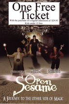 OPEN  SESAME Show A Journey to The Other Side of MAGIC Promo - $1.95