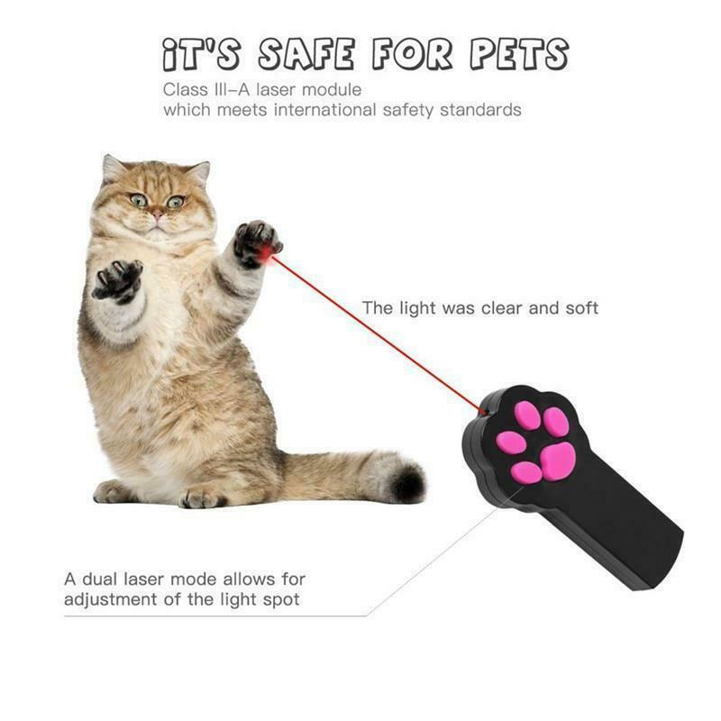 Cat Toys LED Laser Pointer Interactive Playing Training Supplies Pet Accessories image 8