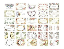 30 PCS Collectable Vintage Postcards Beautiful Flower Theme - $13.24