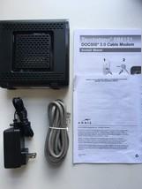 Arris Motorola SB6121 Docsis 3.0 Cable Modem 575319-029 Black 612572210383 - $19.99