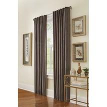 "NEW 2 Pack Room Darkening Window Panel in Grey Velvet 50"" x 84"" - $38.00"