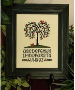 Willow Tree Alphabet cross stitch chart Cherry Hill Stitchery - $7.20