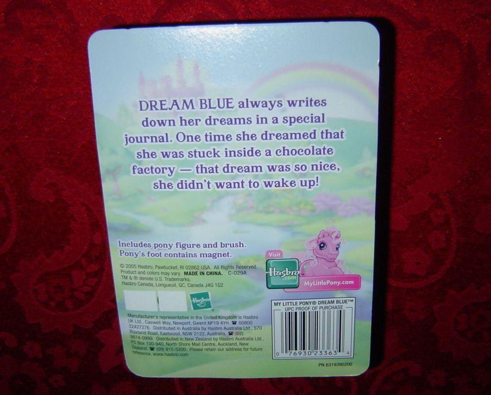 My Little Pony Dream Blue Hasbro 2005