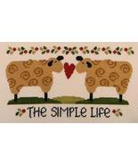 The Simple Life cross stitch chart Cherry Hill Stitchery - $7.20