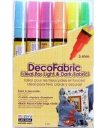 Marvy DecoFabric Fabric Marker (Fluorescent Col... - $9.95