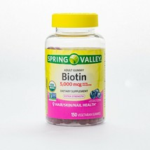 Spring Valley BIOTIN, Adult Gummies, 150 Count.+ - $25.99