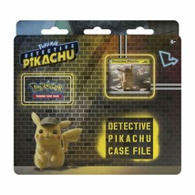 Pokemon TCG: Detective Pikachu Case File 3 Booster Pack Promo Card Metallic Coin - $15.82