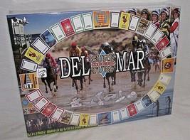 Del Mar Surf Meets Turf Board Game Horse Racing Derby Ocean Monopoly Rac... - $44.54