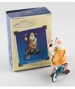 "Hallmark Keepsake Ornament ""Toymaker Santa"" Collector's Series 2002 w/ B... - $59.40"