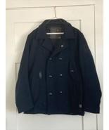 G-STAR RAW 3301 Men's Wool Jacket Coat Size M/L Some Lining Tears - $85.00