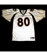 Rod Smith Denver Broncos Men's 56 3XL NFL Football Jersey Reebok White Sewn - $93.49