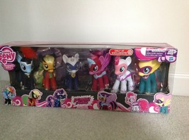 "My Little Pony Exclusive 6"" Power Ponies Set Of 6 Full Set Of Mane Six ~ New Nib - $85.21"