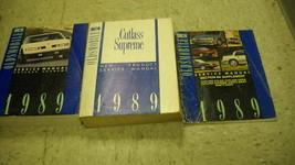 1989 Oldsmobile CUTLASS SUPREME Service Shop Repair Manual Set 89 DEALER... - $79.19