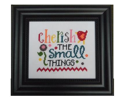 Cherish the small things