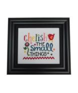 Cherish The Small Things cross stitch chart Cherry Hill Stitchery - $5.40
