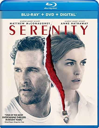 Primary image for Serenity [Blu-ray + DVD + Digital, 2019]