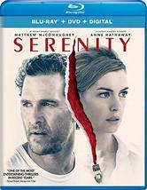Serenity [Blu-ray + DVD + Digital, 2019] - $21.95