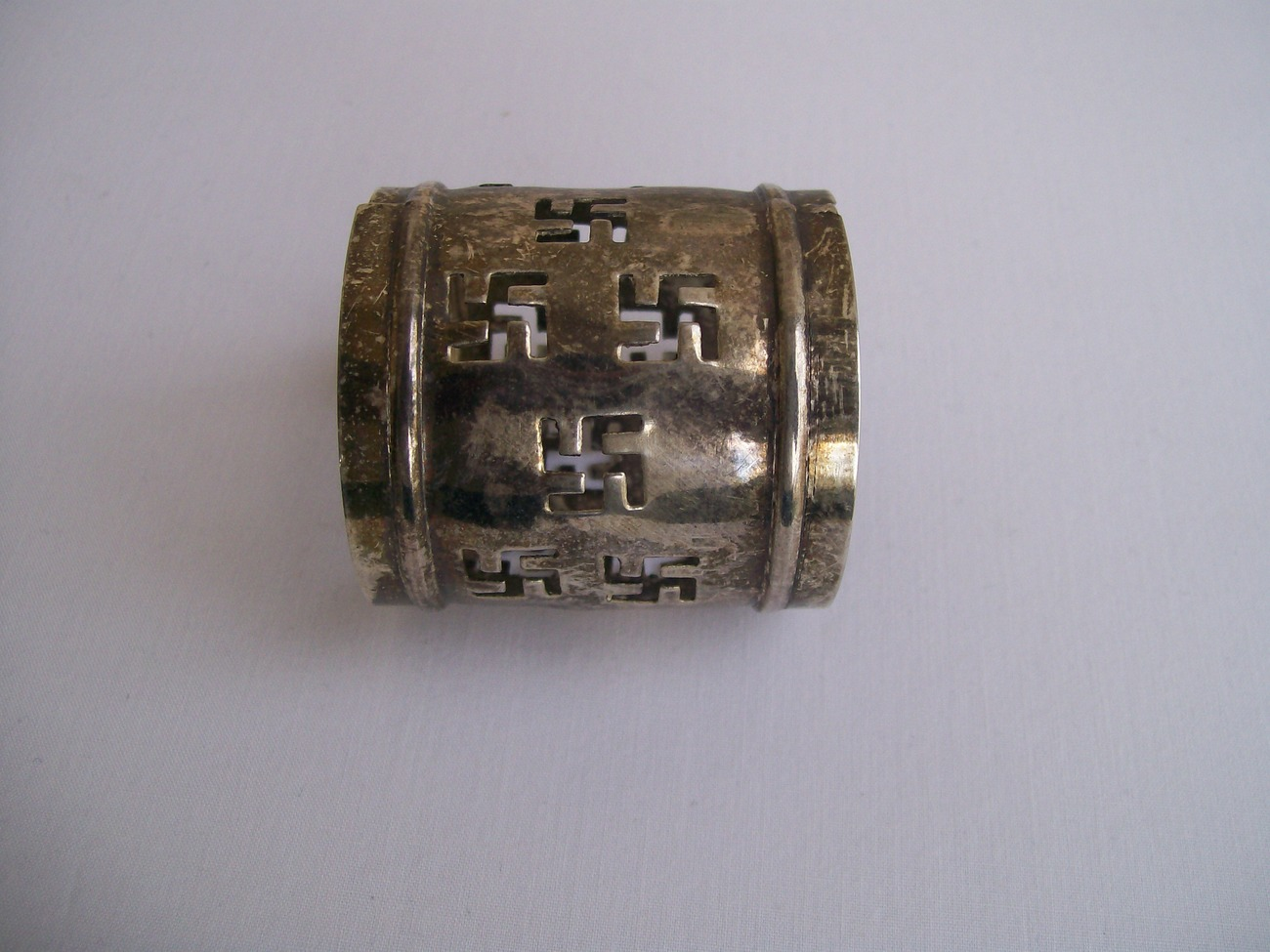 Swastika Napkin Ring Handmade? Rolling Logs